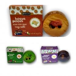 Hocus pocus children's fruit soap with a toy purple Hemani 100gr