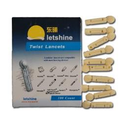 Ланцеты (иголки) для авторучки 21G в коробке 100шт