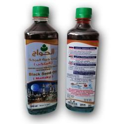 Масло черного тмина Королевское Mallaky El Hawag Египет 500мл